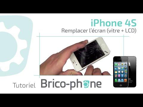 iphone 4S - http://www.brico-phone.com 10% de remise code YOUTUBE Grâce à ce tutoriel, remplacez la vitre brisée de votre iPhone 4s, la vidéo comprend le démontage et le...