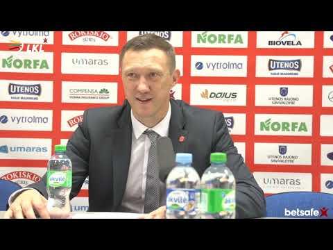 """""""Betsafe–LKL"""" rungtynių komentarai: """"Juventus"""" - """"Žalgiris"""" [2018-09-30]"""