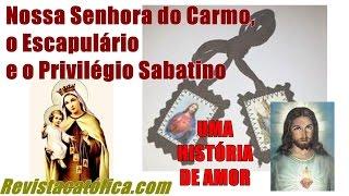 Vídeo explicando a aprovação indireta da aparição de Nossa Senhora do Carmo, o uso correto do escapulário e o maravilho...