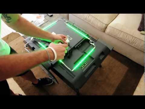 LED TV Backlighting - Installation