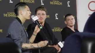 """""""Unbroken"""" Q&A Highlights with Actors    HD 720p"""