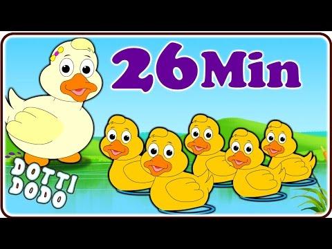 Five Little Ducks & More Nursery Rhymes for Children By Dotti Dodo