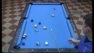 Shaun Wilkie Vs Shayne Morrow In The Finals At The Valley Forge Bar Box 8-Ball Championships