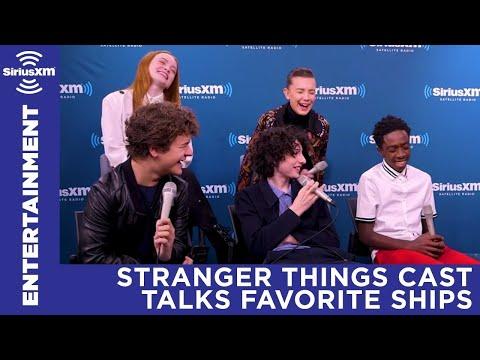Stranger Things cast talks favorite ships | SiriusXM Entertainment Weekly Radio