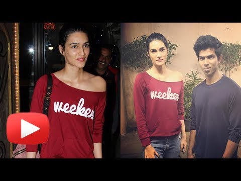 Kriti Sanon Makeover, Snapped After A Salon Sessio