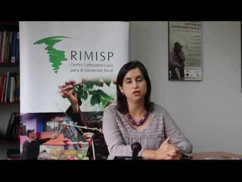 Saludo de la Directora Ejecutiva de Rimisp en entrega del Premio Manuel Chiriboga