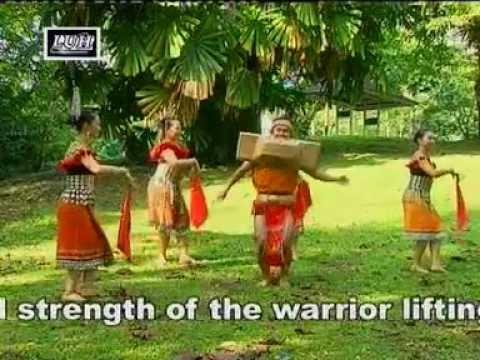 ngajat iban a traditional dance