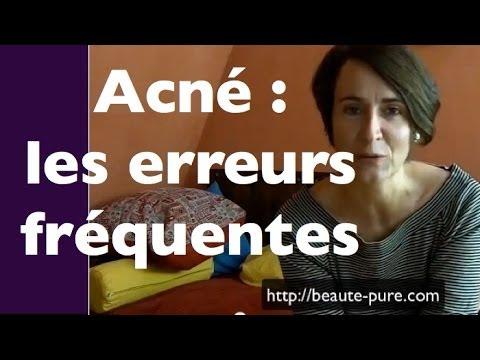 comment guerir acne