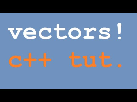 vector c++ tutorial for beginners + how to sort the vector fast