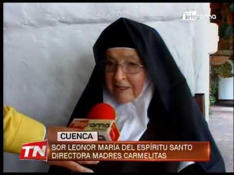 Madres Carmelitas elaboran traje del Niño Viajero