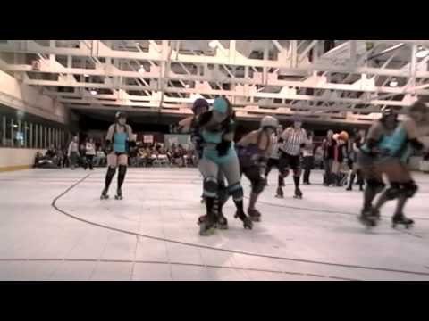 Roller Derby  Hits At It's Best