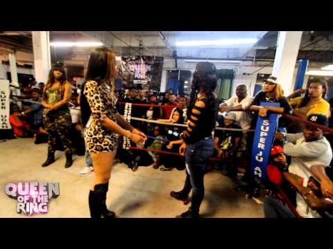 BABS BUNNY & VAGUE presents QUEEN OF THE RING BONNIE GODIVA vs 40 B.A.R.R.S. (MAIN EVENT)