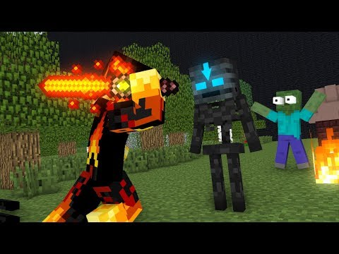 Monster School : Elements Bending - Minecraft Animation