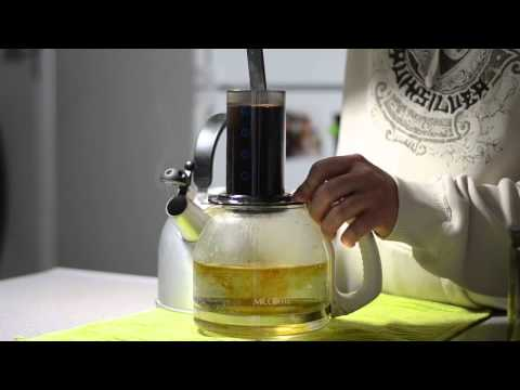 Aerobie Aeropress Coffee Maker Brews A Pot of Coffee