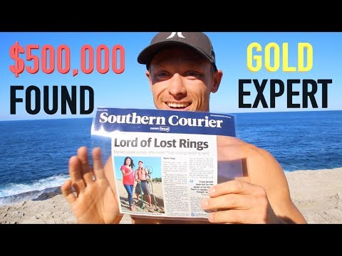 Found $500,000 Cash Gold Underwater Metal Detecting Lost Treasure (Big News)