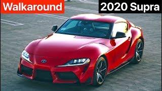 2020 Toyota GR Supra 3.0 Premium Walkaround + Sound (No Talking) by MilesPerHr
