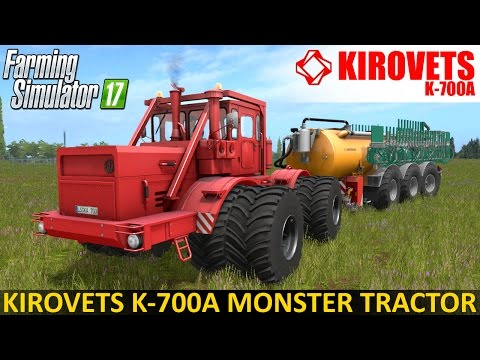 K-700 Farming simulator 17 v3.0
