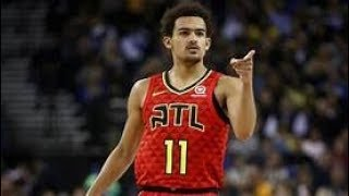 Trae young did not flinch after his coach threw a chair