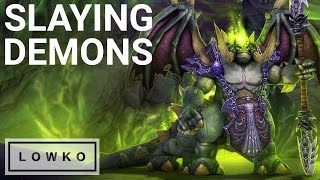 Warcraft 3: SLAYING DEMONS & THE ORACLE! (Orc Campaign Cinematic), Blizzard Entertainment, World of Warcraft