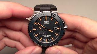 Oris Divers Maldives Limited Edition Men's Watch Review Ref: 64376547185RS