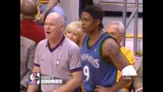 Read the article about this video on http://nba-referees-wired.com/videos/nba-referee-joey-crawford-having-funCheck Joey Crawford trying to straighten things out for the Lakers, while Bennett Salvatore makes things clear to Troy Hudson. Joey Crawford is impressed with Kendall Gill, but doesn't trust Hugh Jackman. Also, Chris Webber learns from Danny Crawford how to get three technicals in one game before being ejected. Steve Javie and Tim Duncan become friends.