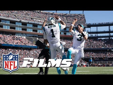Video: Cam Newton Takes Advantage of Patriots' Coverage Breakdowns (Week 4) | NFL Turning Point