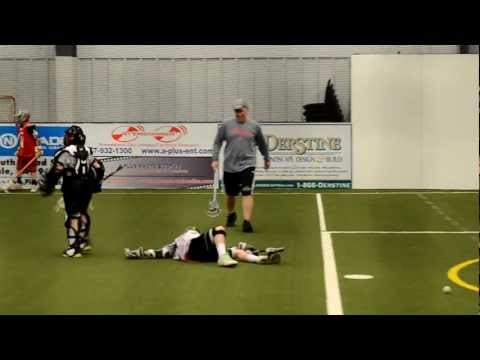 AILA – American Indoor Lacrosse – 7/8th grade – Penalty Shot – Goalie Revenge!!