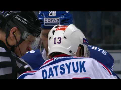 Datsyuk receives game misconduct penalty in playoffs (видео)