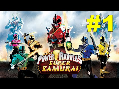 power rangers super samurai xbox 360 kinect part 1