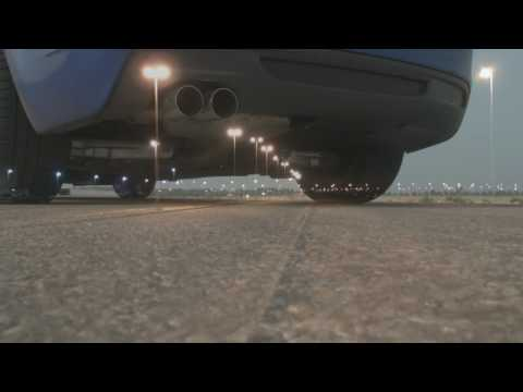BMW 135i Stock Exhaust vs BMW Performance Exhaust