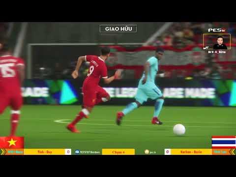 Việt Nam vs Thái Lan | [OS] Tính Conan + [WE1] Duy Trần vs Karhan + Burin 29-12-2017