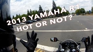 10. 2013 Yamaha YZF-R1 Review Hot or Not?