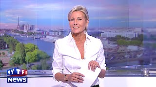 Video L'au revoir de Claire Chazal lors de son dernier JT sur TF1 MP3, 3GP, MP4, WEBM, AVI, FLV Mei 2017