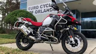 9. 2018 BMW R 1200 GS Adventure Racing Red at Euro Cycles of Orlando