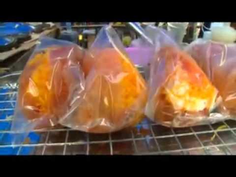 ขนมถังทอง - ขนมถังทองคุณส้ม...ขนมถังทองทรงเครื่อง ไส้เยอะ อลังการจริงๆ คร้าาาาา.