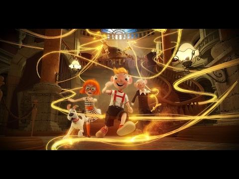Ze Spejbla a Hurvínka budou filmové hvězdy! Animák Hurvínek a kouzelné muzeum představuje první ukázku