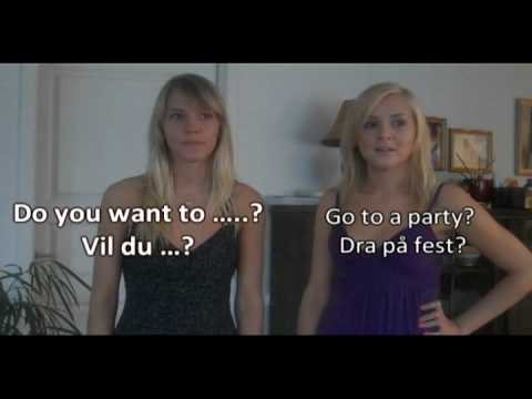 norwegian - Sorry It's been so few videos this summer. Dont be dissappointed with me! Im having vacation! Do you want to .....? Vil du ...? Go for a walk? - Gå en tur? H...