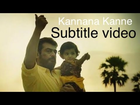 Kannana Kanne Viswasam Lyrics Meaning | Subtitle Video