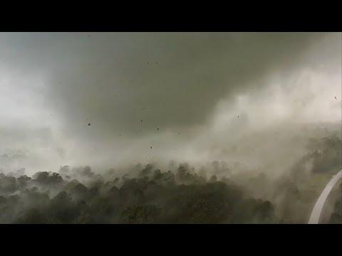 Tornado up close!