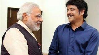 Nagarjuna meets Modi to get a seat for his wife Amala | Power Star Pawan Kalyan