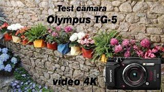Toma de contacto con la cámara Olympus TG-5 realizando una grabación en vídeo 4K durante la exposición: Girona, Temps de...