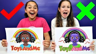 Video 3 MARKER CHALLENGE | Toys AndMe MP3, 3GP, MP4, WEBM, AVI, FLV Maret 2019