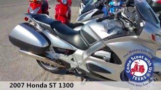 4. 2007 Honda ST 1300