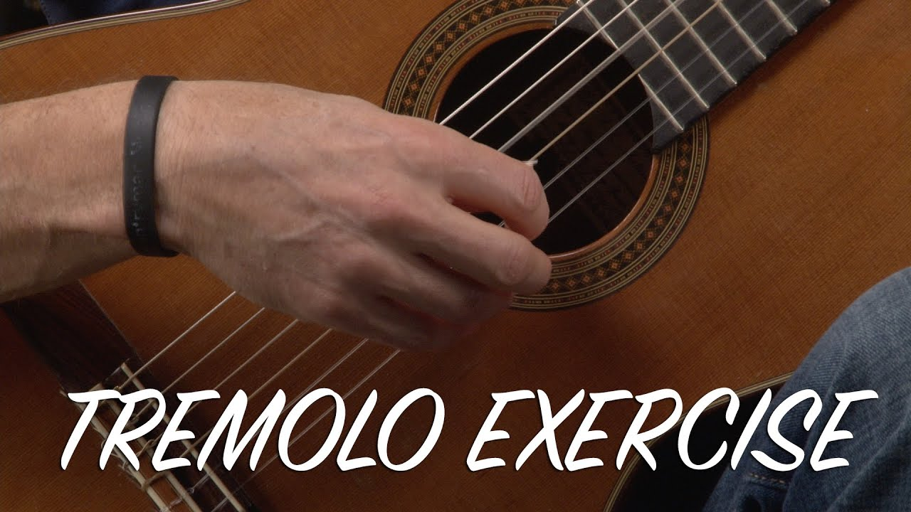 Beginning Tremolo Classical Guitar Exercises