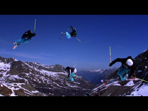 Video: Freestyle Skiing Madness in Kaunertal by Legs of Steel