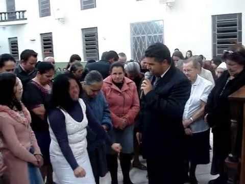 Ev. Otoniel Barroso pregando em Itaperuçu - PR / TEMA: Em busca do soldado ferido.