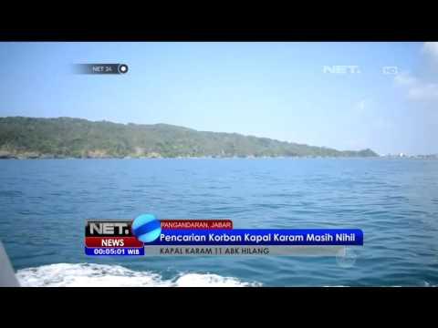 Hari Ke 8 Pencarian ABK Kapal Tenggelam Di Pengandara Belum Ditemukan - NET24