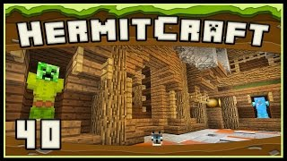 HermitCraft 4: Finishing The Structure Of The Underground Minecraft Armory