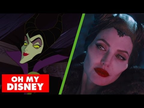 The Maleficent Trailer Gets Animated | Oh My Disney