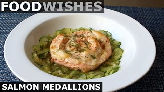 Salmon Medallions - Food Wishes by Food Wishes